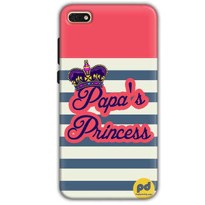 Huawei Honor 7s Mobile Covers Cases Papas Princess - Lowest Price - Paybydaddy.com