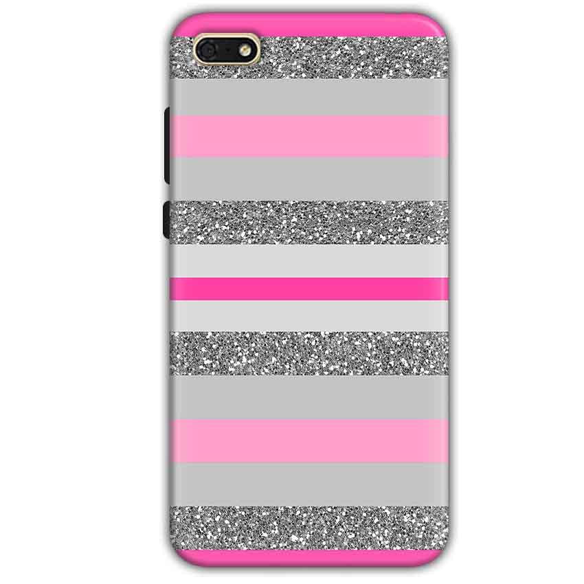Huawei Honor 7s Mobile Covers Cases Pink colour pattern - Lowest Price - Paybydaddy.com