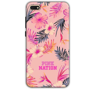 Huawei Honor 7s Mobile Covers Cases Pink nation - Lowest Price - Paybydaddy.com