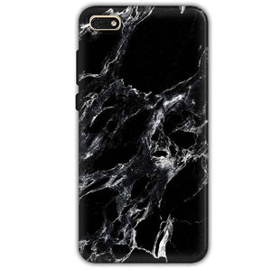 d890f407795c Huawei Honor 7s Mobile Covers Cases Pure Black Marble Texture - Lowest Price  - Paybydaddy.com