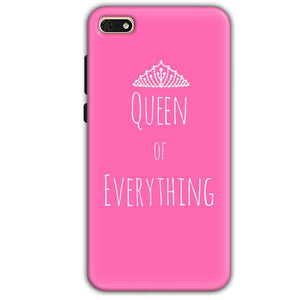 c0ab14c200c3 Huawei Honor 7s Mobile Covers Cases Queen Of Everything Pink White - Lowest  Price - Paybydaddy.com