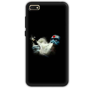 Huawei Honor 7s Mobile Covers Cases Shiva Aghori Smoking - Lowest Price - Paybydaddy.com