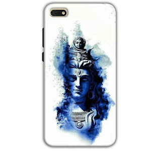 Huawei Honor 7s Mobile Covers Cases Shiva Blue White - Lowest Price - Paybydaddy.com