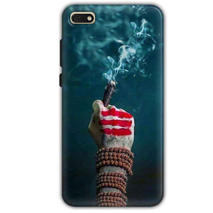 Huawei Honor 7s Mobile Covers Cases Shiva Hand With Clilam - Lowest Price - Paybydaddy.com