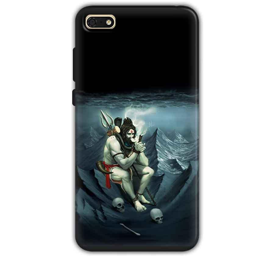 Huawei Honor 7s Mobile Covers Cases Shiva Smoking - Lowest Price - Paybydaddy.com