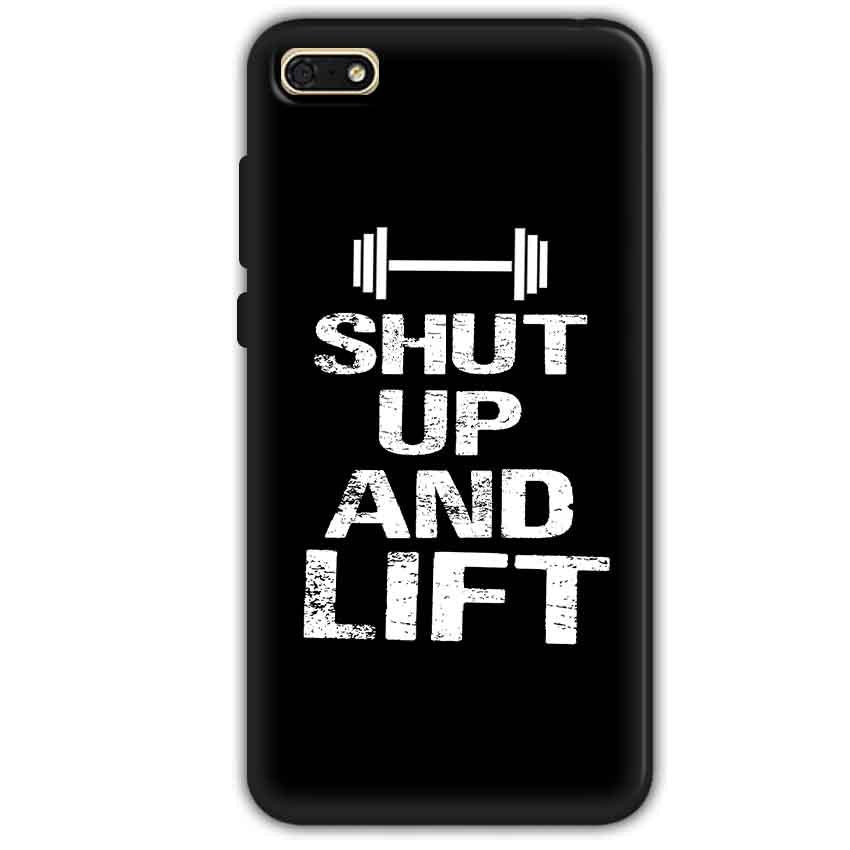 Huawei Honor 7s Mobile Covers Cases Shut Up And Lift - Lowest Price - Paybydaddy.com