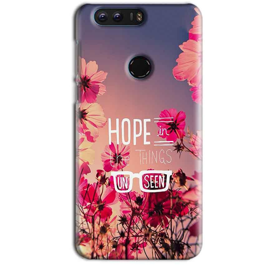 Huawei Honor 8 Mobile Covers Cases Hope in the Things Unseen- Lowest Price - Paybydaddy.com