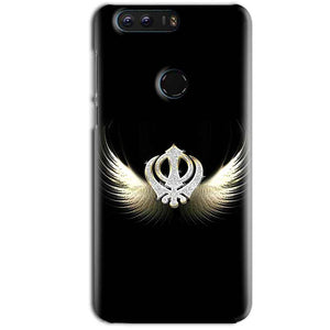 Huawei Honor 8 Mobile Covers Cases KHANDA WITH WINGS - Lowest Price - Paybydaddy.com