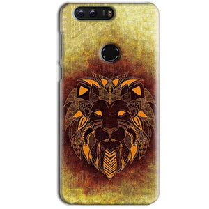 Huawei Honor 8 Mobile Covers Cases Lion face art - Lowest Price - Paybydaddy.com