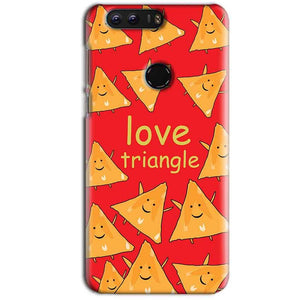 Huawei Honor 8 Mobile Covers Cases Love Triangle - Lowest Price - Paybydaddy.com