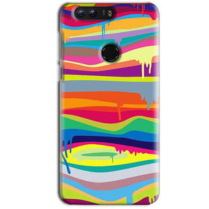 Huawei Honor 8 Mobile Covers Cases Melted colours - Lowest Price - Paybydaddy.com