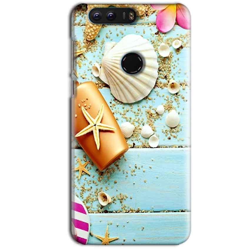 Huawei Honor 8 Mobile Covers Cases Pearl Star Fish - Lowest Price - Paybydaddy.com