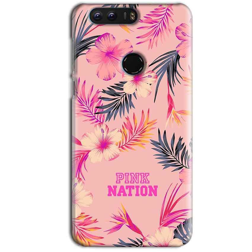 Huawei Honor 8 Mobile Covers Cases Pink nation - Lowest Price - Paybydaddy.com