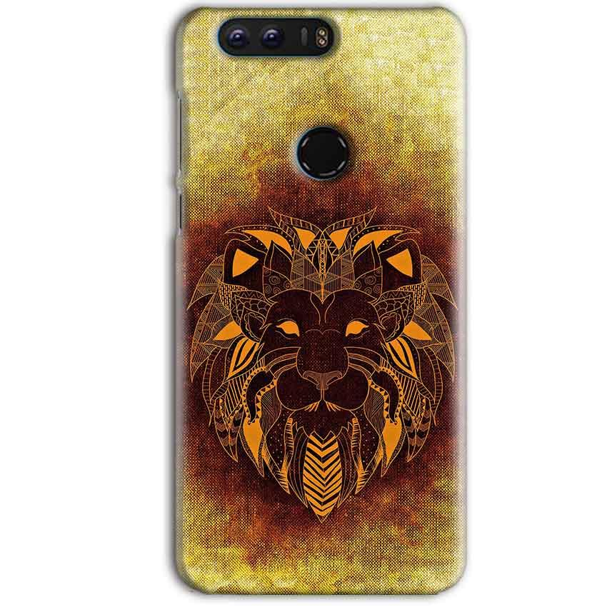 Huawei Honor 8 Pro Mobile Covers Cases Lion face art - Lowest Price - Paybydaddy.com
