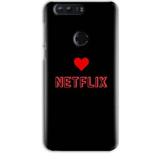 Huawei Honor 8 Pro Mobile Covers Cases NETFLIX WITH HEART - Lowest Price - Paybydaddy.com