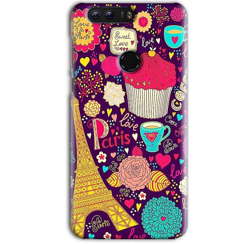 Huawei Honor 8 Pro Mobile Covers Cases Paris Sweet love - Lowest Price - Paybydaddy.com