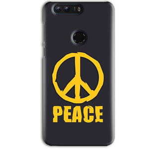 Huawei Honor 8 Pro Mobile Covers Cases Peace Blue Yellow - Lowest Price - Paybydaddy.com
