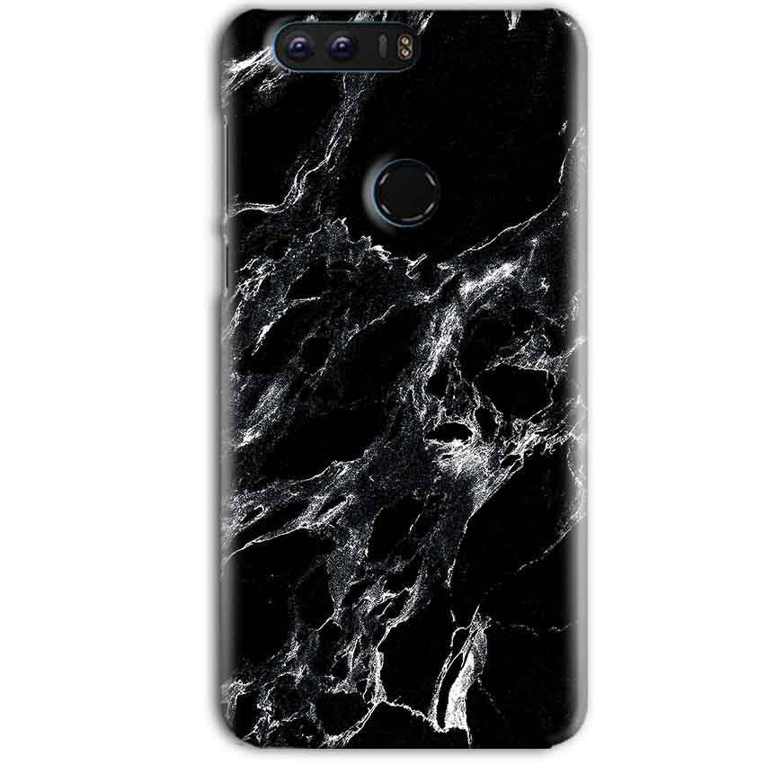Huawei Honor 8 Pro Mobile Covers Cases Pure Black Marble Texture - Lowest Price - Paybydaddy.com