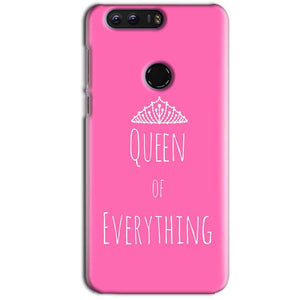 Huawei Honor 8 Mobile Covers Cases Queen Of Everything Pink White - Lowest Price - Paybydaddy.com