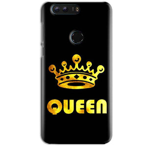 Huawei Honor 8 Mobile Covers Cases Queen With Crown in gold - Lowest Price - Paybydaddy.com