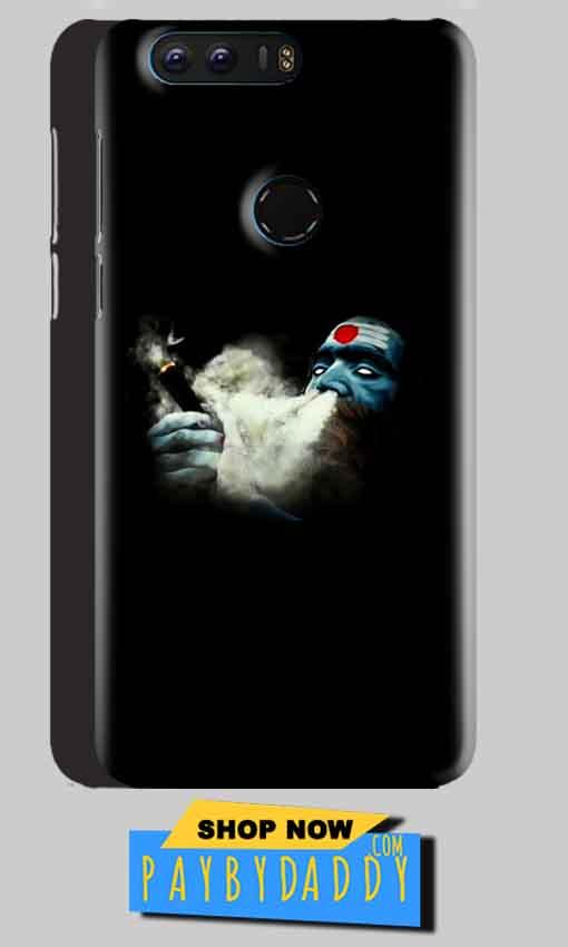 Huawei Honor 8 Mobile Covers Cases Shiva Aghori Smoking - Lowest Price - Paybydaddy.com