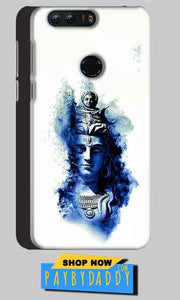 Huawei Honor 8 Mobile Covers Cases Shiva Blue White - Lowest Price - Paybydaddy.com