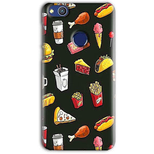 Huawei Honor 8 lITE Mobile Covers Cases Foodie Design - Lowest Price - Paybydaddy.com