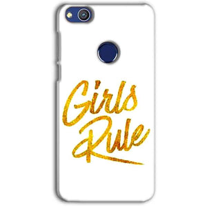 Huawei Honor 8 lITE Mobile Covers Cases Girls Rule in Gold - Lowest Price - Paybydaddy.com