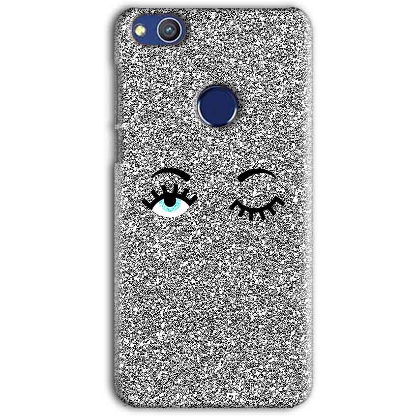 Huawei Honor 8 lITE Mobile Covers Cases Glitter Eye Wink - Lowest Price - Paybydaddy.com
