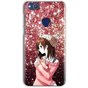 Huawei Honor 8 lITE Mobile Covers Cases Glitter Girl - Lowest Price - Paybydaddy.com