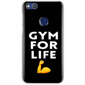 Huawei Honor 8 lITE Mobile Covers Cases Gym for Life - Lowest Price - Paybydaddy.com
