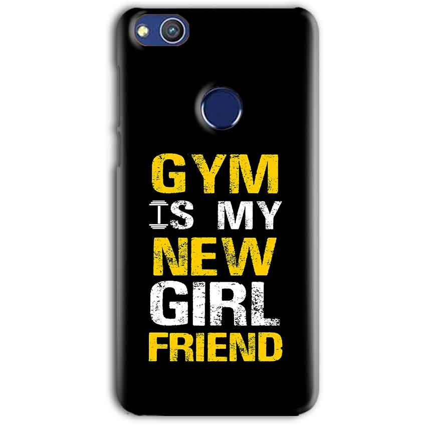 Huawei Honor 8 lITE Mobile Covers Cases Gym is my new girlfriend- Lowest Price - Paybydaddy.com