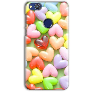 Huawei Honor 8 lITE Mobile Covers Cases Heart in Candy - Lowest Price - Paybydaddy.com
