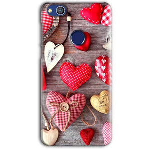 Huawei Honor 8 lITE Mobile Covers Cases Hearts- Lowest Price - Paybydaddy.com