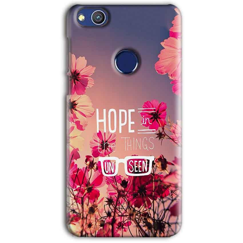 Huawei Honor 8 lITE Mobile Covers Cases Hope in the Things Unseen- Lowest Price - Paybydaddy.com