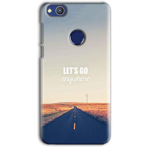 Huawei Honor 8 lITE Mobile Covers Cases Lets Go Anywhere Quote - Lowest Price - Paybydaddy.com