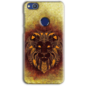Huawei Honor 8 lITE Mobile Covers Cases Lion face art - Lowest Price - Paybydaddy.com