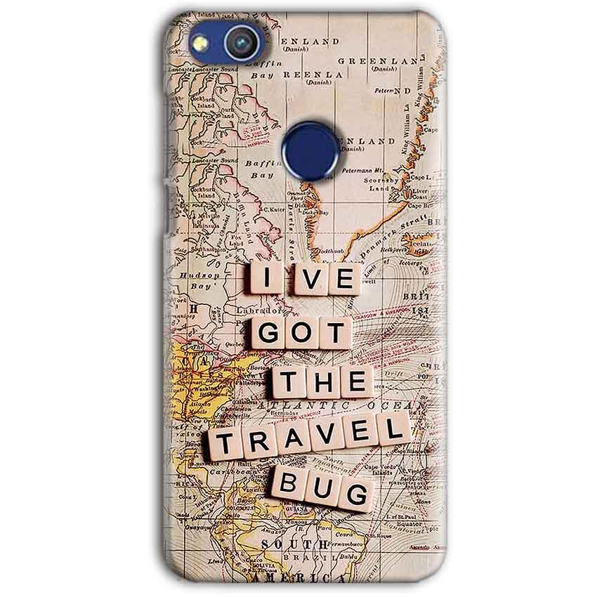 Huawei Honor 8 lITE Mobile Covers Cases Live Travel Bug - Lowest Price - Paybydaddy.com