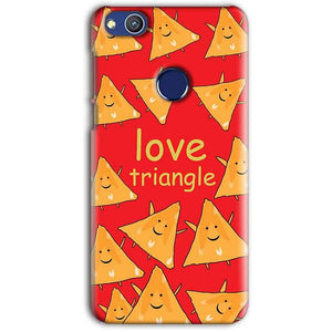 Huawei Honor 8 lITE Mobile Covers Cases Love Triangle - Lowest Price - Paybydaddy.com