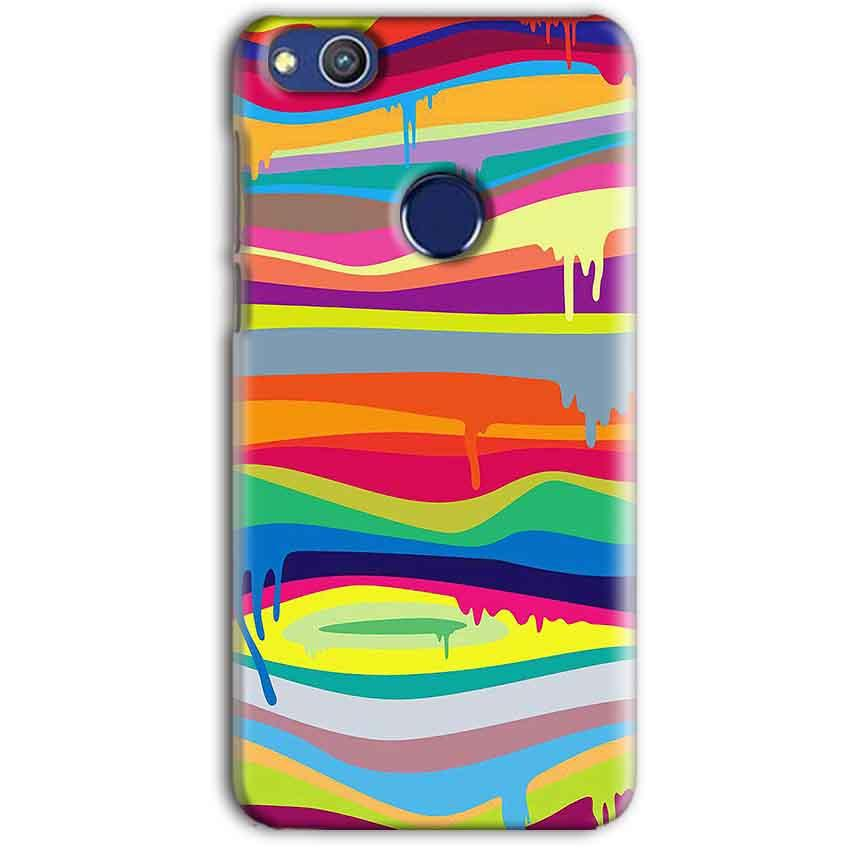 Huawei Honor 8 lITE Mobile Covers Cases Melted colours - Lowest Price - Paybydaddy.com