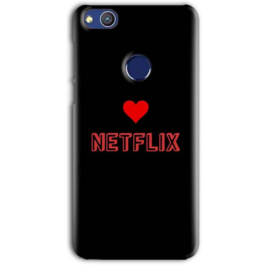 Huawei Honor 8 lITE Mobile Covers Cases NETFLIX WITH HEART - Lowest Price - Paybydaddy.com