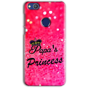 Huawei Honor 8 lITE Mobile Covers Cases PAPA PRINCESS - Lowest Price - Paybydaddy.com
