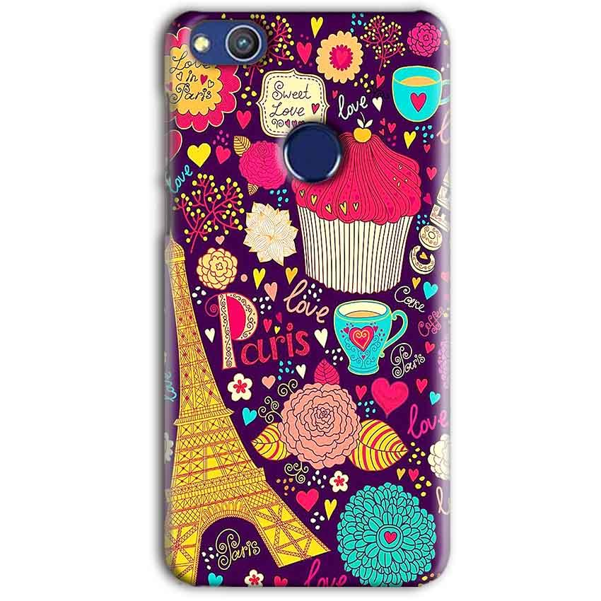 Huawei Honor 8 lITE Mobile Covers Cases Paris Sweet love - Lowest Price - Paybydaddy.com