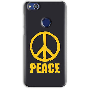 Huawei Honor 8 lITE Mobile Covers Cases Peace Blue Yellow - Lowest Price - Paybydaddy.com