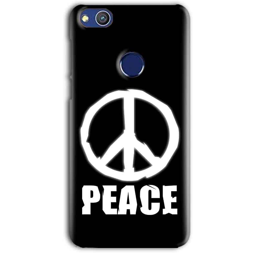 Huawei Honor 8 lITE Mobile Covers Cases Peace Sign In White - Lowest Price - Paybydaddy.com