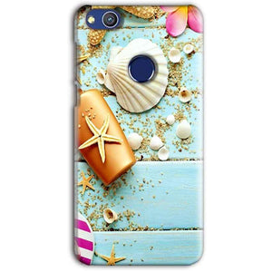 Huawei Honor 8 lITE Mobile Covers Cases Pearl Star Fish - Lowest Price - Paybydaddy.com