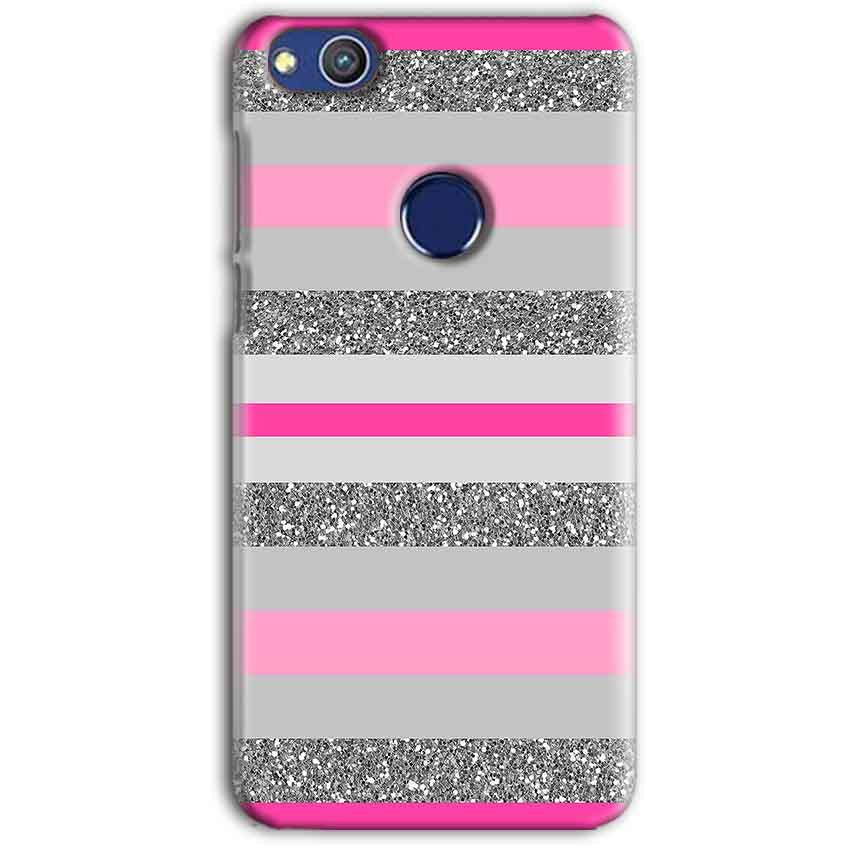 Huawei Honor 8 lITE Mobile Covers Cases Pink colour pattern - Lowest Price - Paybydaddy.com