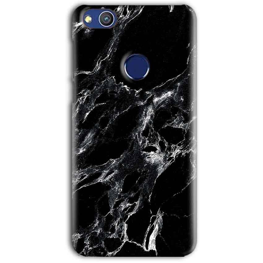 Huawei Honor 8 lITE Mobile Covers Cases Pure Black Marble Texture - Lowest Price - Paybydaddy.com