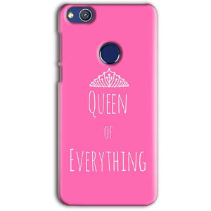 Huawei Honor 8 lITE Mobile Covers Cases Queen Of Everything Pink White - Lowest Price - Paybydaddy.com