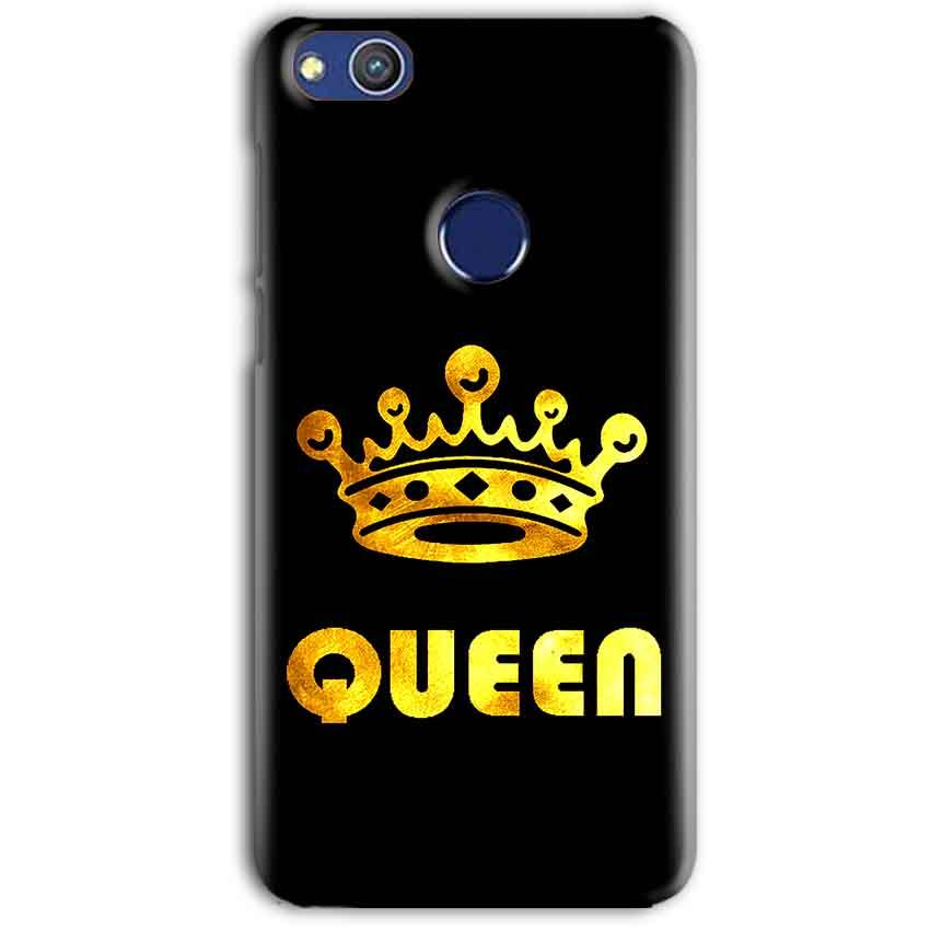 Huawei Honor 8 lITE Mobile Covers Cases Queen With Crown in gold - Lowest Price - Paybydaddy.com